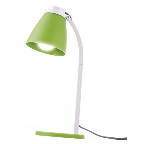 Stolná lampa Lolli s LED žiarovkou zelená