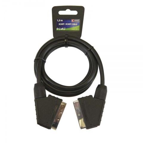 Kábel SCART-SCART 1.5m 21P ECO