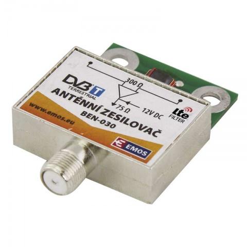 Anténny predzosilovač 30dB VHF/UHF