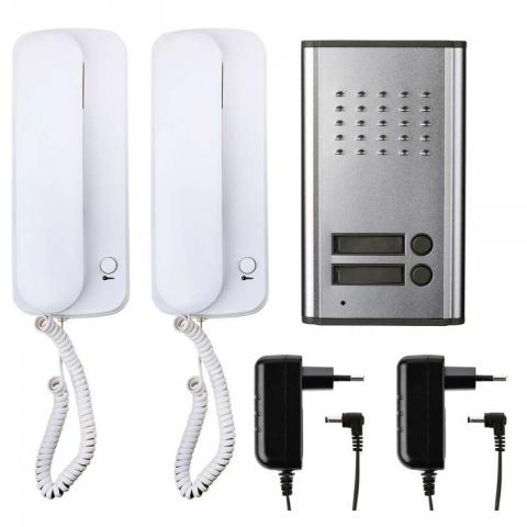 Audiovrátnik, sada, 2 účastníci EMOS H1086