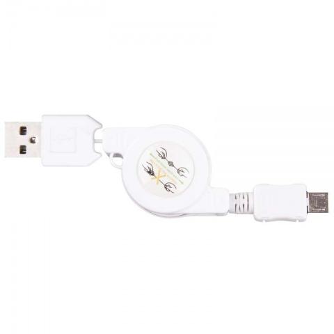 USB kábel 2.0 A/M - micro B/M 0,8m