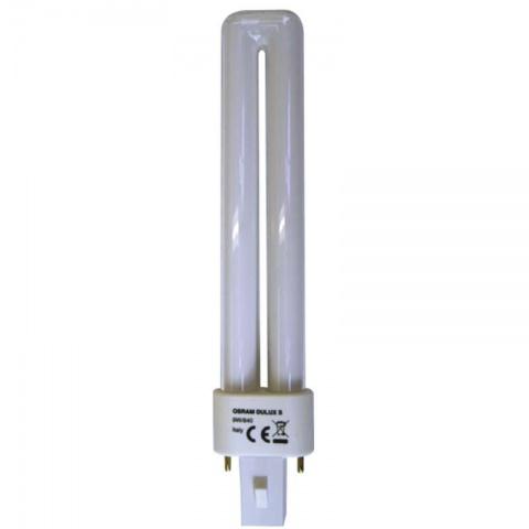 Kompaktná žiarivka DZ DULUX S 9W/840 studená biela