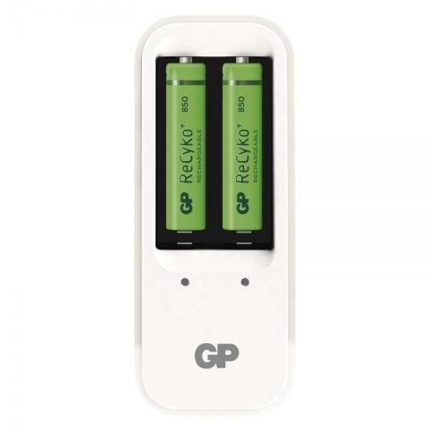 GP nabíjačka batérií PB410 + 2 x GP ReCyko+ 850