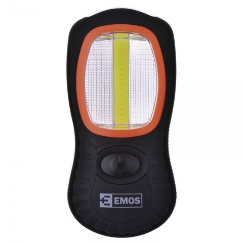 LED svietidlo, ABS materiál, 3W COB + 3 LED, na 3x AAA