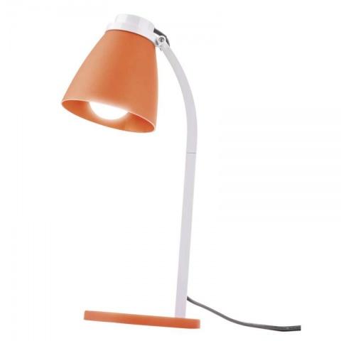 Stolná lampa Lolli s LED žiarovkou oranžová