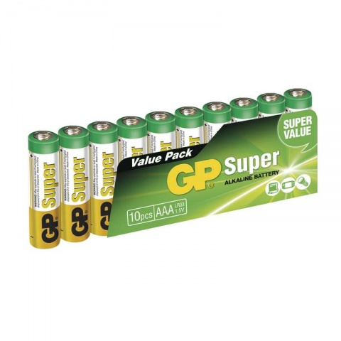 Alkalické batérie GP Super LR03 AAA