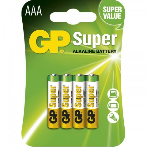 Batéria GP super alkalická AAA