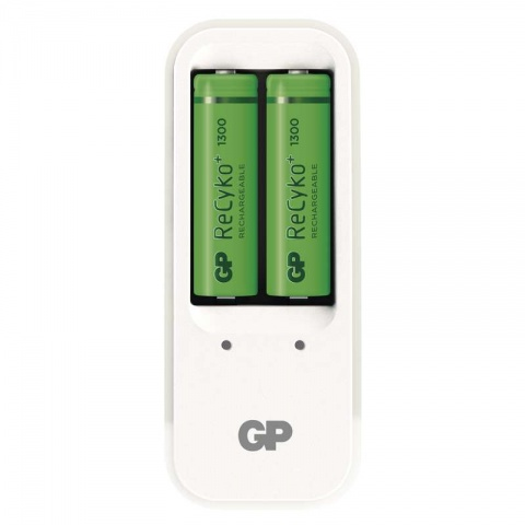 GP nabíjačka batérií P410 + 2 x GP ReCyko+ 1300