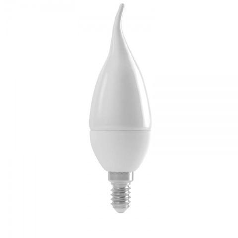 LED žiarovka candle tail 6W E14 teplá biela