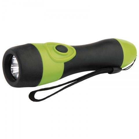 LED svietidlo gumové, 3x LED, na 2x AA