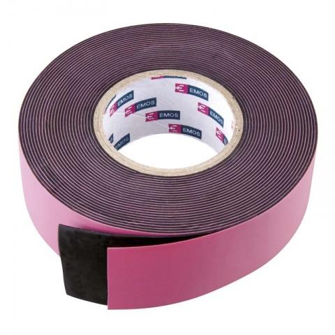 Izolačná páska vulkanizačná 25mm/5m čierna
