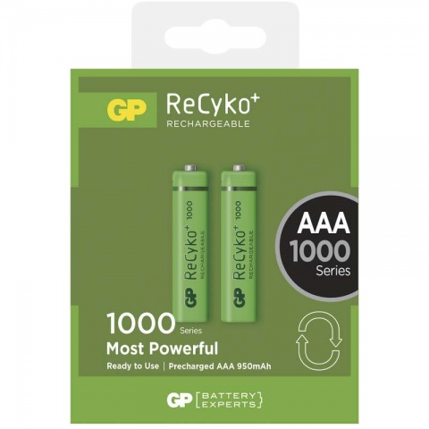 Nabíjacia batéria GP ReCyko+ 1000 AAA