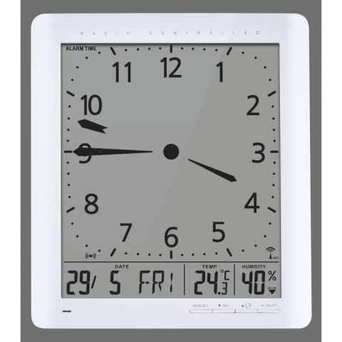 Nástenné hodiny digitálne E9280
