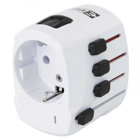 Cestovný adaptér 1.103200 biely (Európan v zahr.)