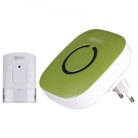 Domový bezdrôtový zvonček 838W zelený