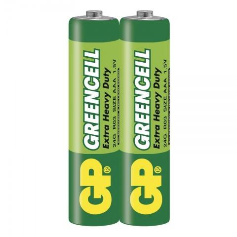 Batéria GP GREENCELL AAA