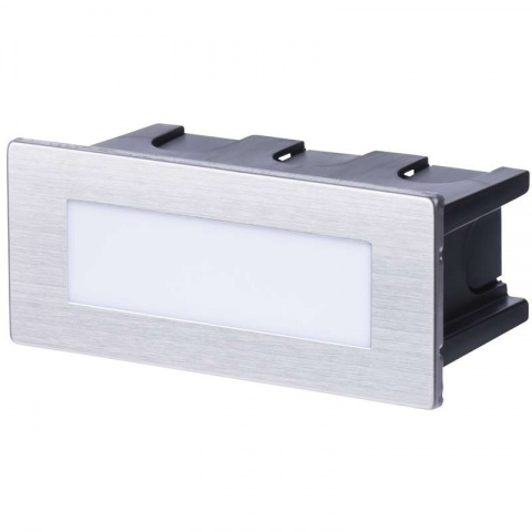 LED orientačné svietidlo, obdĺžnik 1,5 W teplá biela IP65
