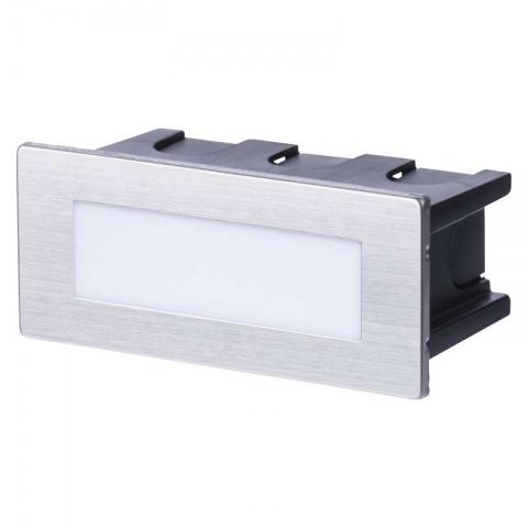 LED orientačné svietidlo, obdĺžnik 1,5W neutralna biela IP65