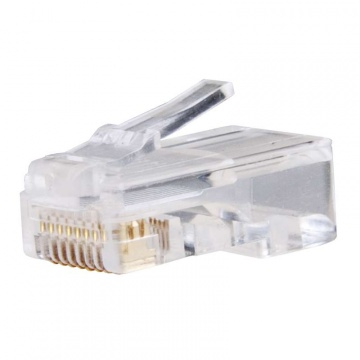 Konektor pre UTP kábel, biely