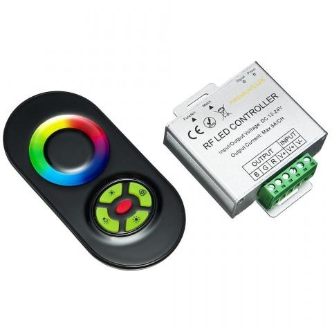 Kontrolér LED RGB RF dotykový 216W 18A