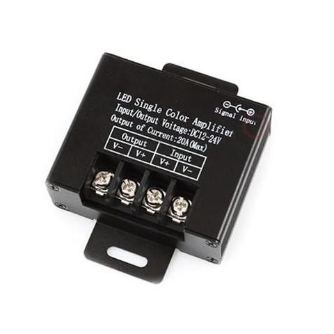 Zosilovač signálu pre LED pásy jednofarebné - max 20A / 240W - 12V
