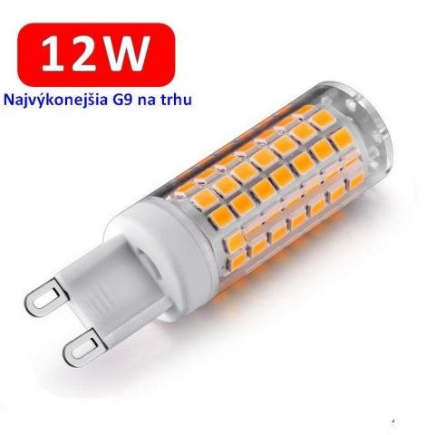 LED žiarovka 12W 230V Teplá biela G9