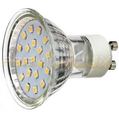 LED žiarovka 1W Teplá biela, GU10