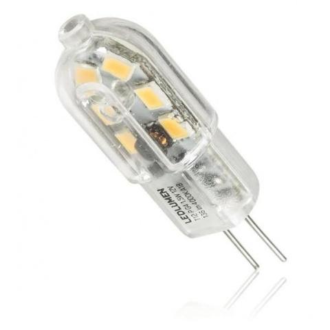 LED žiarovka 1.5W Teplá biela 12V AC/DC