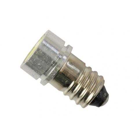 LED žiarovka 12V 1W studená biela HIGH POWER, E10