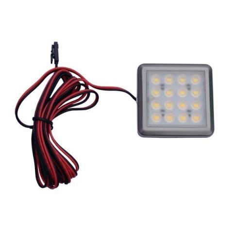 ODYN Podhľadové bodové svietidlo LED 1.5W 12V DC teplá biela