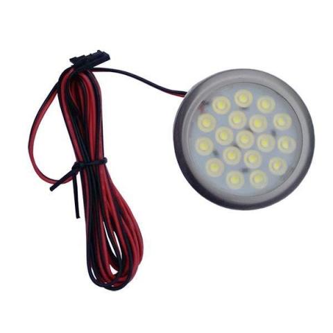 IDET Podhľadové bodové svietidlo LED 1.5W 12V DC studená biela