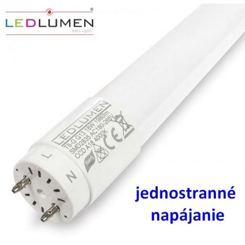 120cm LED trubica 18W T8-G G13  CCD Neutrálna biela