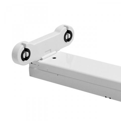 Prisadené teleso pre LED trubice T8 2x 60cm