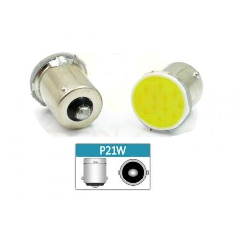 LED auto žiarovka LED BA15S 3W 24-chip COB P21W