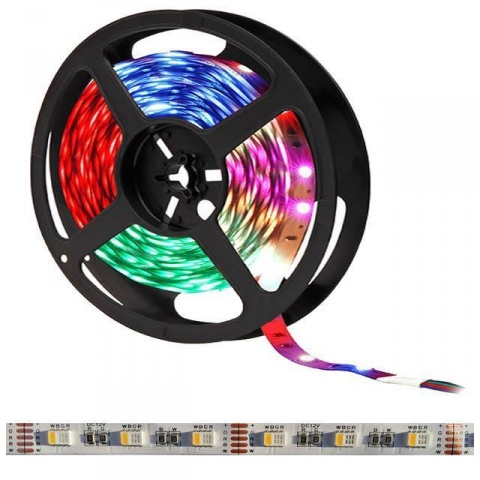 1m LED pás 60x SMD5050 4-chip RGB-CW  IP20