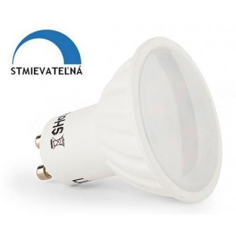 Stmievateľná LED žiarovka 8W Neutrálna biela 13 SMD2835 GU10