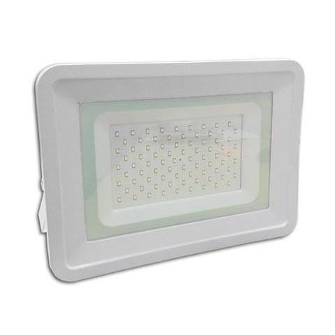 LED reflektor 100W Studená biela