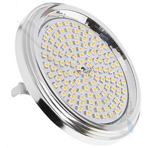 AR111 G53 120 LED SMD 3528 12V Teplá biela 7W