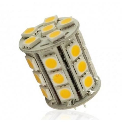 LED žiarovka 27 SMD 5050 4.2W, teplá, G4
