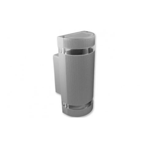 Prisadené bodové svietidlo HANA 2x GU10 Silver