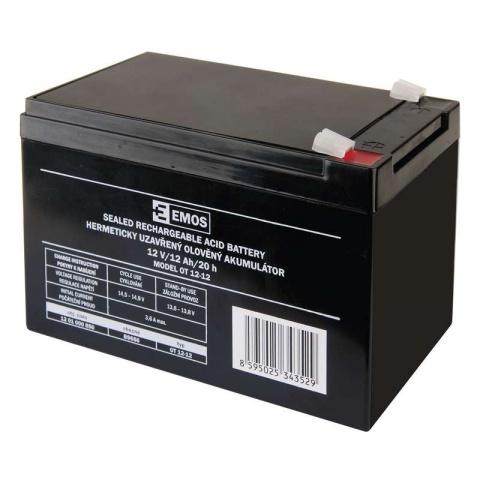 Olovený akumulátor 12V/12 Ah, AGM