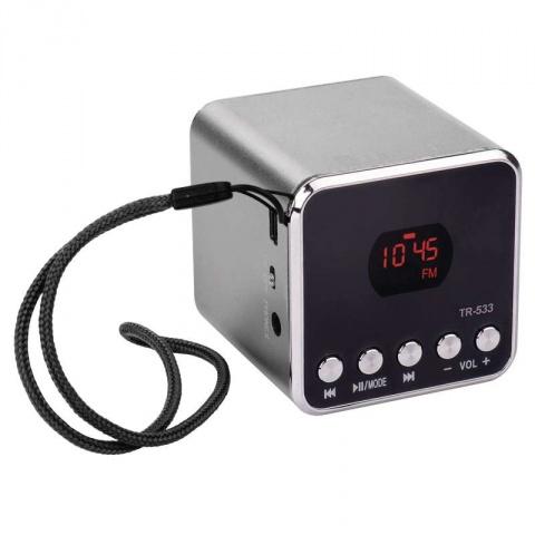 Soundbox EMOS TR533B, šedý