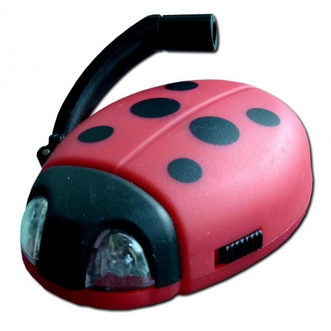 POWERplus Ladybug - Dynamo svetielko na kľúče