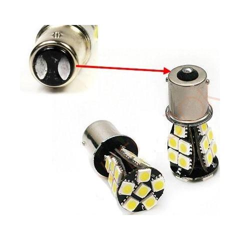 Dvojvláknová auto LED  žiarovka BA15S 4,2 W