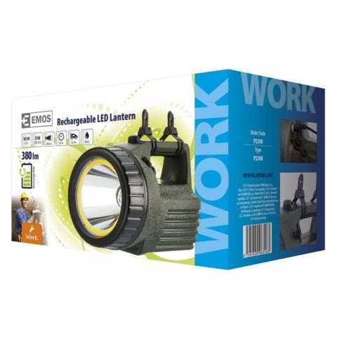 Nabíjacie svietidlo LED + COB 3810 10W