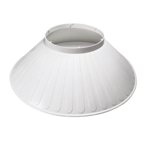 Tienidlo pre LED žiarovku T190-AP E40 100W
