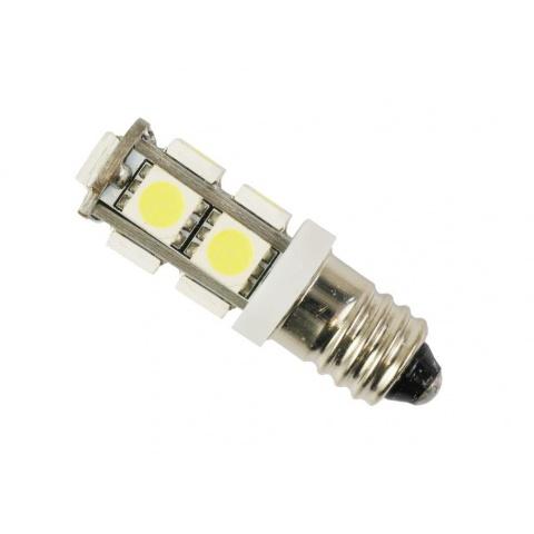 LED žiarovka 12V 2W studená biela, E10