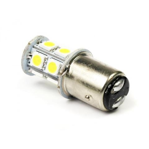 Dvojvláknová auto LED žiarovka BA15S P21W Bay15D