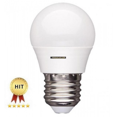 mini LED žiarovka Teplá biela 5W E27