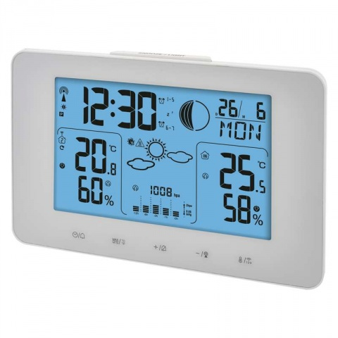LCD domáca bezdrôtová meteostanica E8825